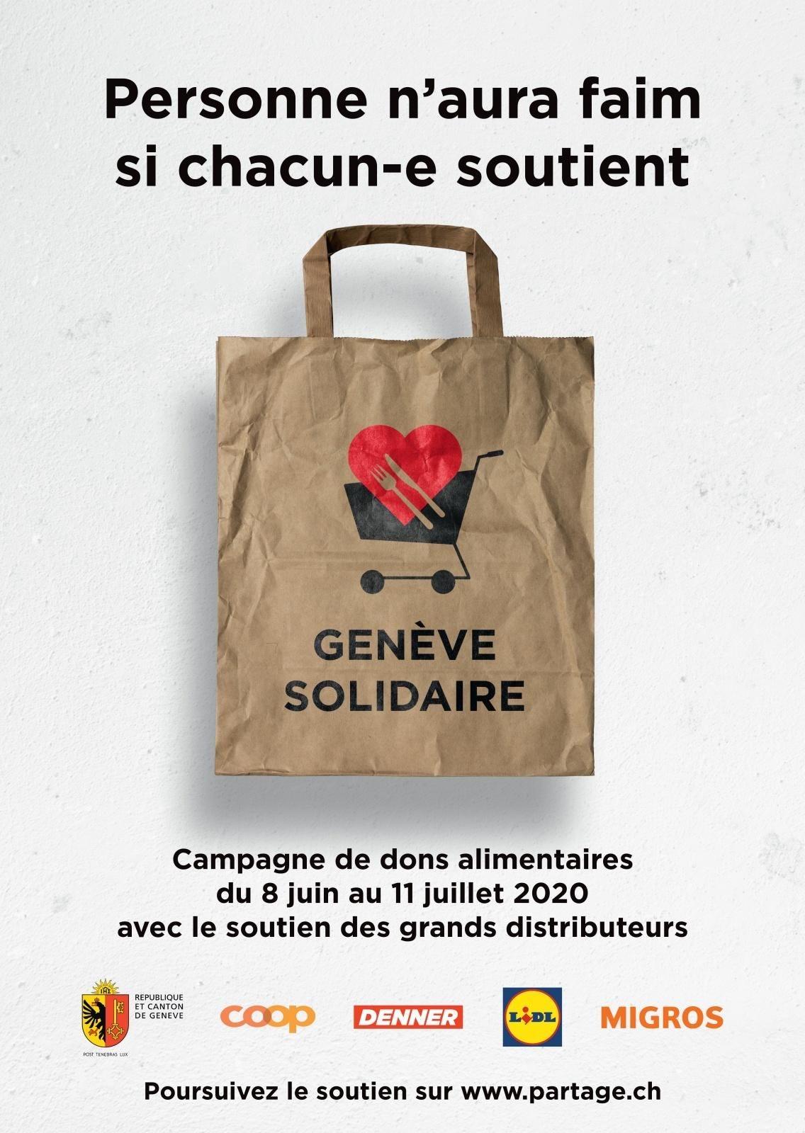 Affiche Genève solidaire